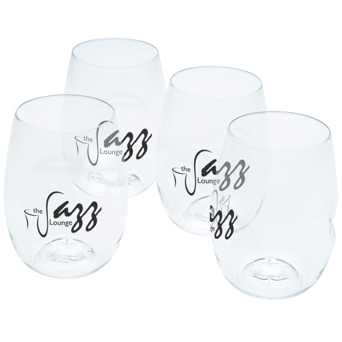 customized stemless wine glasses
